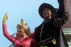 Disneyland Paris characters on parade Royalty Free Stock Image
