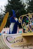 Disneyland Paris characters on parade Stock Photos