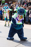 Disneyland Paris characters during a show Royalty Free Stock Photography