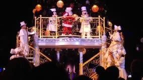 Disneyland Paris Christmas Tree 2015 Royalty Free Stock Photo