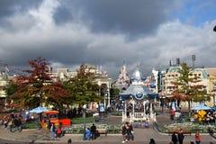 Disneyland Paris Halloween immagine stock