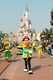 DISNEYLAND PARIS - MARCH 11, 2016 some characters of  disney Royalty Free Stock Photography