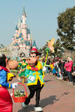 DISNEYLAND PARIS - MARCH 11, 2016 :some characters of disney Royalty Free Stock Images