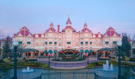 DISNEYLAND PARIS Mickey Mouse hotel Royalty Free Stock Images