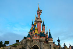 Disneyland Paris. Disneyland is one of the most famous entertainment parks in the whole Europe. Operating since April 1992 it is visited by over 15 million Royalty Free Stock Image