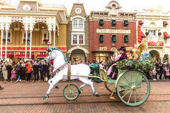 Disneyland Paris Parade Royalty Free Stock Photography