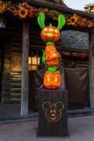 Disneyland Paris pendant les célébrations de Halloween Photo stock
