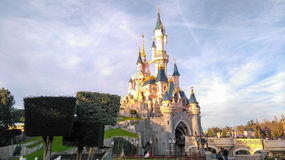 DISNEYLAND PARIS Princess Castle Royalty Free Stock Photography