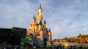 DISNEYLAND PARIS Princess Castle Stock Image