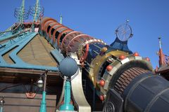 Disneyland Paris ritt royaltyfri fotografi