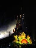 DISNEYLAND PARIS SHOW. Europe's top destination, Disneyland Paris, features two theme parks (Disneyland Park and Walt Disney Studios Park), Disney Village, seven Stock Image