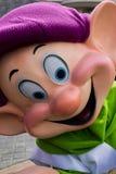 Disneyland Paris tecken under en show arkivbild