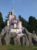 Disneyland Paris. Territory of child's entertaining complex of attractions Royalty Free Stock Images