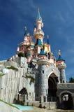 Disneyland Paris, vue de château de princesse Photo libre de droits