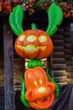 Disneyland Paris während Halloween-Feiern Stockbilder