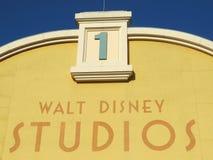 DISNEYLAND PARIS. WALT DISNEY STUDIOS, 2013 Royalty Free Stock Photography