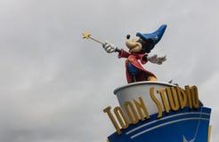Disneyland Paris XI stock foto's