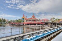 Disneyland-Park 2018 stockfoto