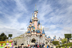 Disneyland park fotografia stock