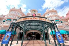 Disneyland Park Royalty Free Stock Image
