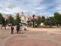 Disneyland parka centrali plac zdjęcia royalty free
