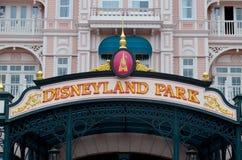 Disneyland parkerar arkivfoto