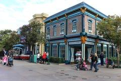 Disneyland parkerar royaltyfria bilder