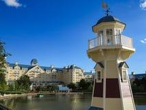 Disneyland Paryż latarnia morska fotografia stock