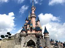 disneyland Paryża obrazy royalty free
