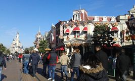 disneyland Paryża fotografia stock
