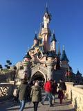 Disneyland Paryż wierza Fotografia Stock
