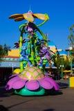 Disneyland Pixar ståtar felliv royaltyfri foto