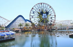 Disneyland przejażdżki zdjęcia stock