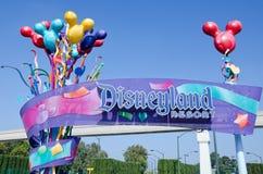 Disneyland-Rücksortierung Lizenzfreie Stockfotos