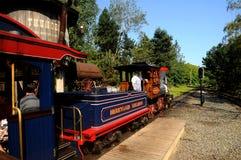 Disneyland railroad locomotive Stock Image
