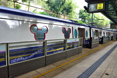 Disneyland Resort Line, Hong Kong Stock Photography