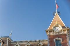 Disneyland Resort nöjesfält i Anaheim, Kalifornien royaltyfri foto