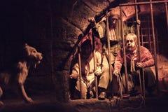 Disneyland Resort nöjesfält i Anaheim, Kalifornien fotografering för bildbyråer