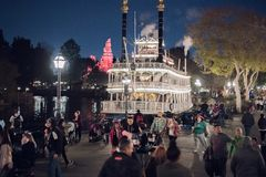 Disneyland Resort -Themapark in Anaheim, Californië royalty-vrije stock fotografie