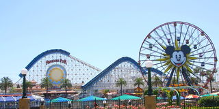 Disneyland Rides stock images