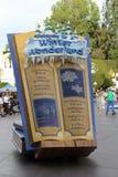 Disneyland's Christmas Parade. Disneyland's 2013 Christmas Parade. Book float Stock Image