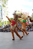 Disneyland's Christmas Parade Stock Images