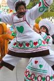 Disneyland's Christmas Parade. Disneyland's 2013 Christmas Parade. Gingerbread bakers dancing Stock Images