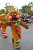 Disneyland's Christmas Parade Royalty Free Stock Photo