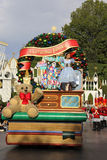 Disneyland's Christmas Parade Stock Photography