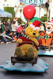 Disneyland's Christmas Parade Stock Image