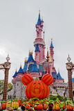 Disneyland scena w Paryż, Francja obraz stock