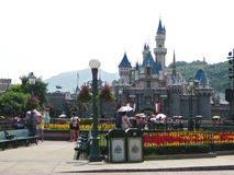 Disneyland-Schloss Lizenzfreies Stockfoto