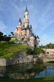 Disneyland. Sleeping Beauty Castle on the sky background Stock Images