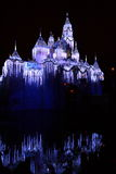 Disneyland slott arkivfoton